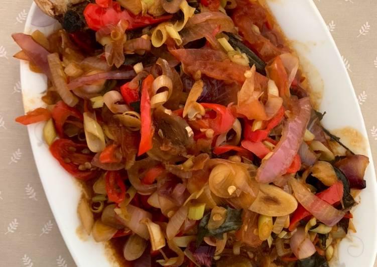Siakap / Kakap masak pedas ala Thai