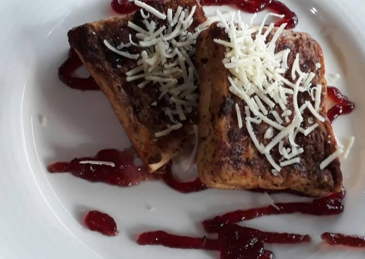 Resep Roti panggang spesial Paling Joss