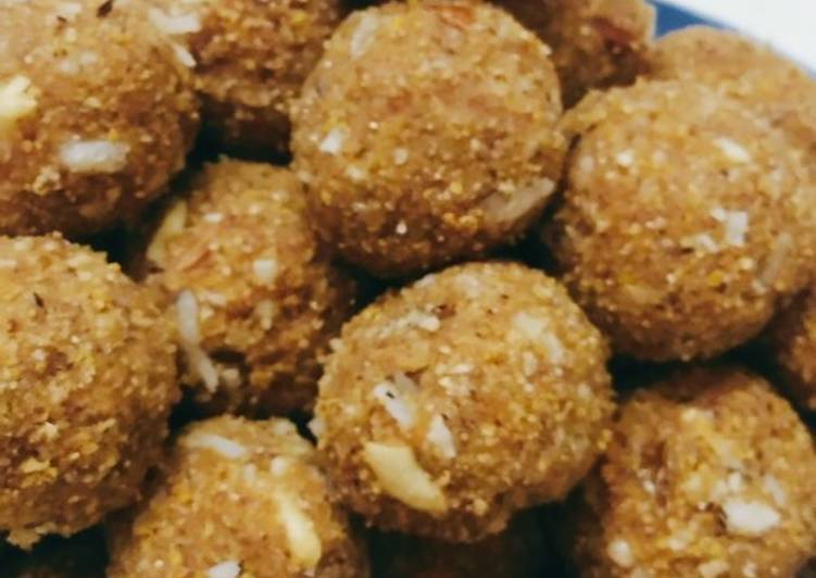 Easiest Way to Prepare Homemade Sprouted Nachni Laddoo