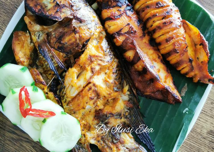 Seafood Bakar Bumbu Jimbaran