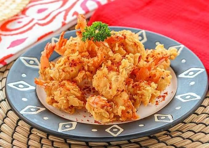 Resep Udang Crispy Boncabe