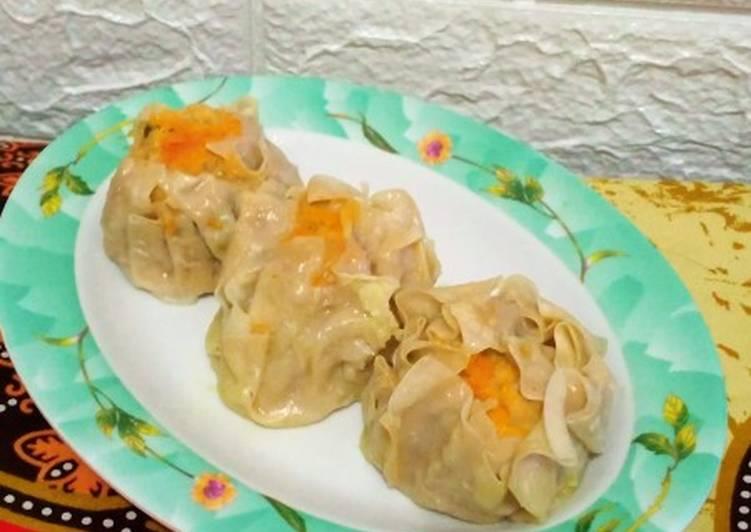 Resep Siomay (dimsum) ayam udang simple yang Lezat