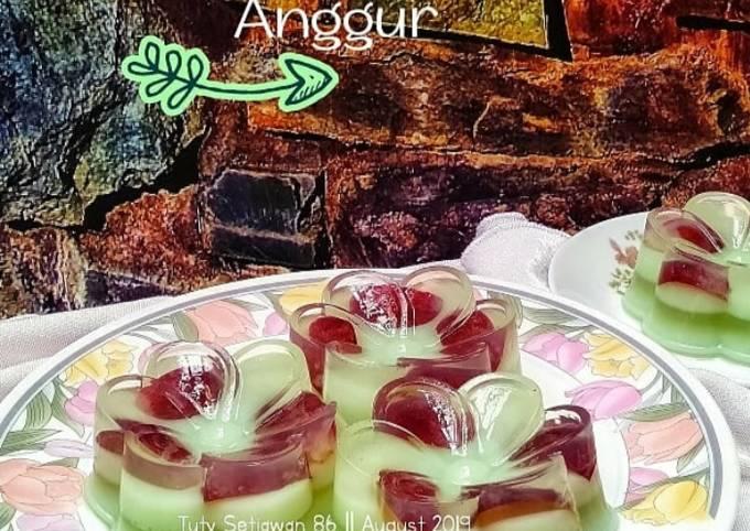 Puding Melon Anggur