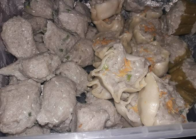 Resep Siomay kulit ikan Anti Gagal