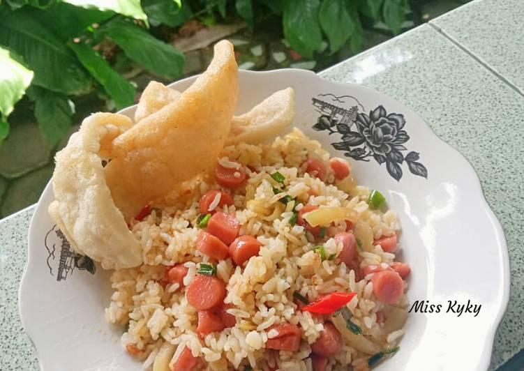 Nasi Goreng (tanpa bawang merah)