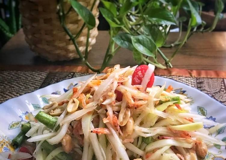 Somtam ala thailand/salad pepaya hijau