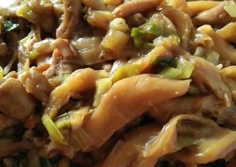 Resep Jamur tiram topping mie ayam yang Bikin Ngiler