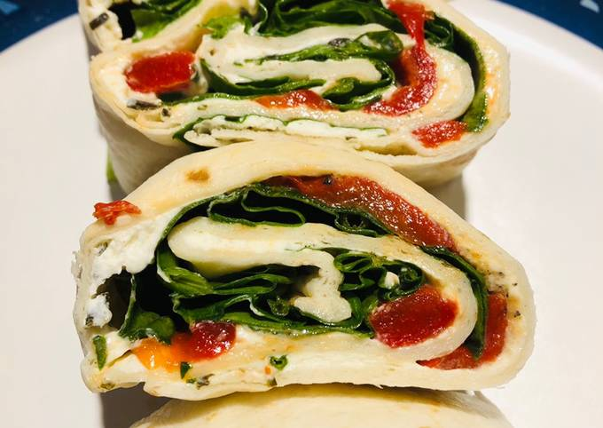 Recipe of Ultimate Spinach and Cream Cheese Pinwheels