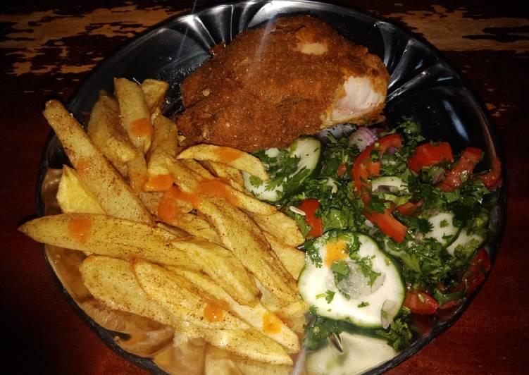 Recipe of Perfect Kfc nyumbani