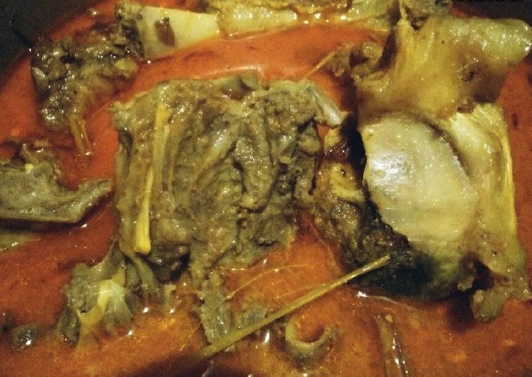 Gulai Kambing (Rendah Kolesterol & Anti Prengus)