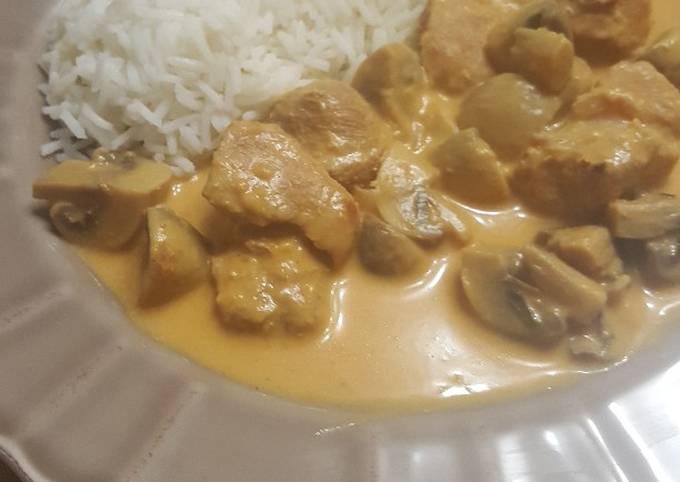 Sauté de porc au curry au cookeo