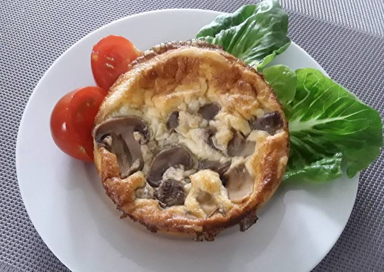 Try Using Food to Boost Your Mood Sig's Mushroom and Ham Quiche