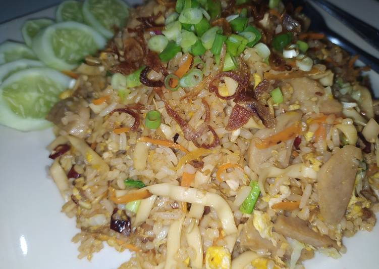 Nasi Goreng Mawut-Mawut