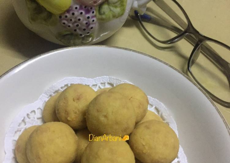 Resep Cheese Ball Cookies Anti Gagal