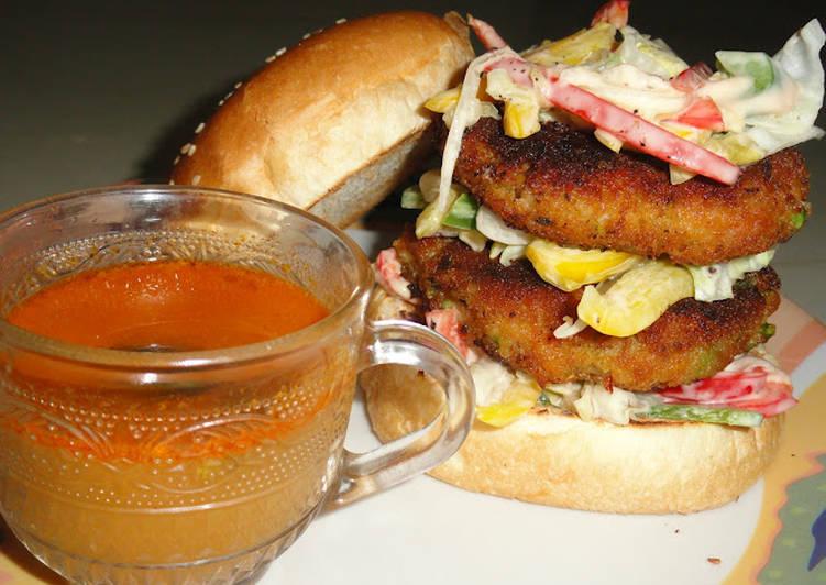 Vegetarian Burger - under 30 min