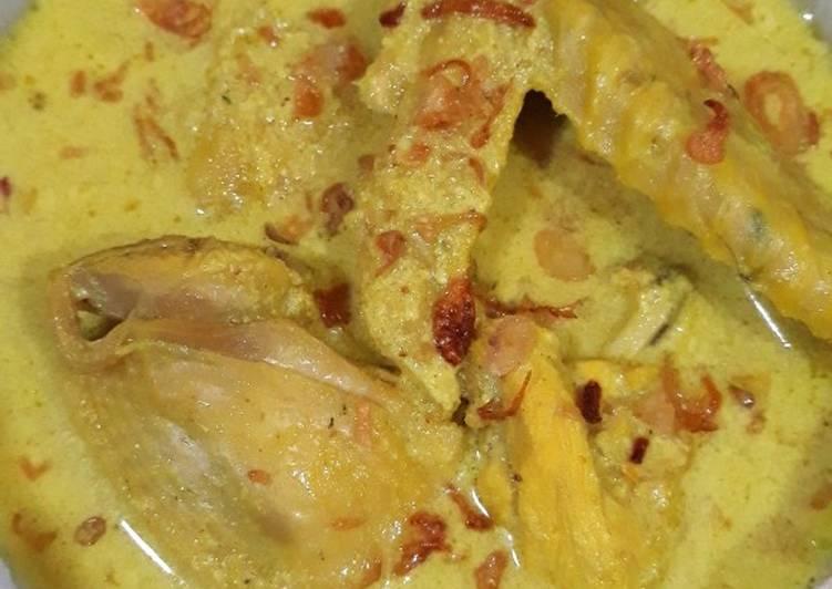 Cara Membuat Kari Ayam Jawa enak dan mudah