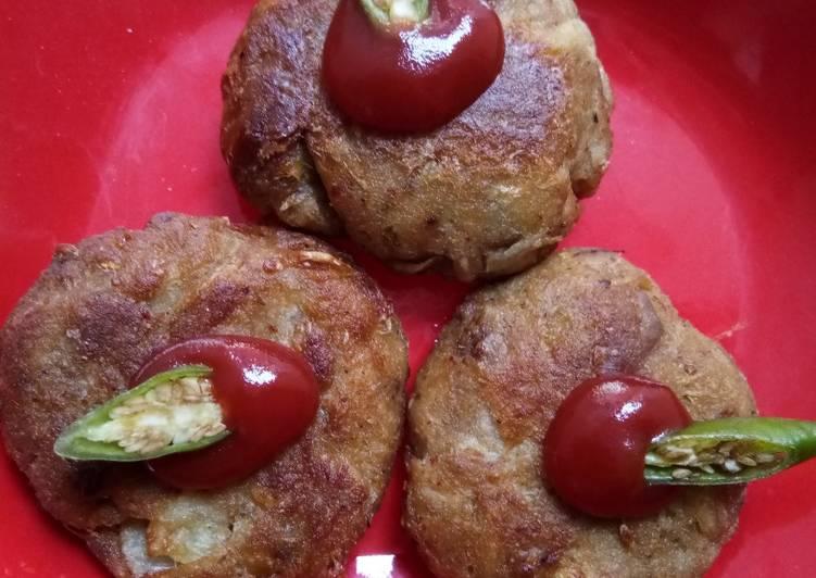 Jackfruit-Peanut Fried Kebab