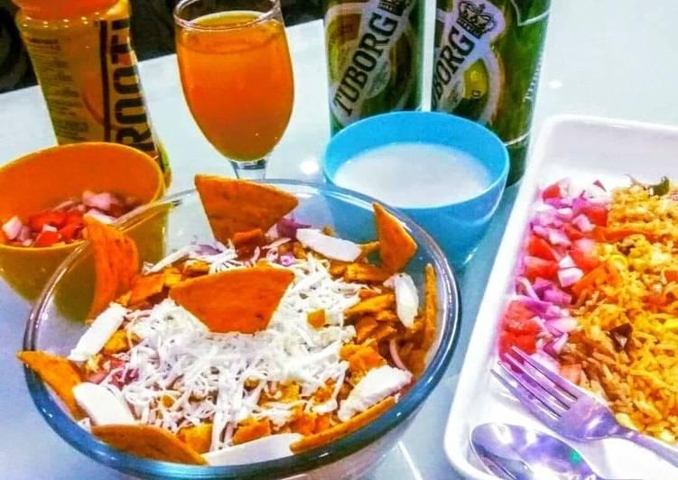 Simple Way to Prepare Super Quick Homemade Maxican burrito bowl