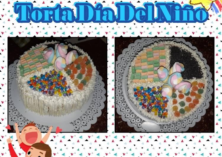 Decoración De Torta Para El Día Del Niño Receta De Andy