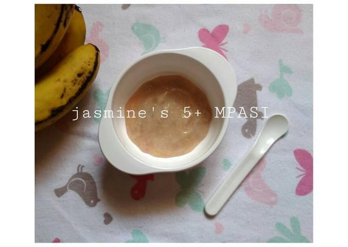 MPASI 5+ pure pisang ambon