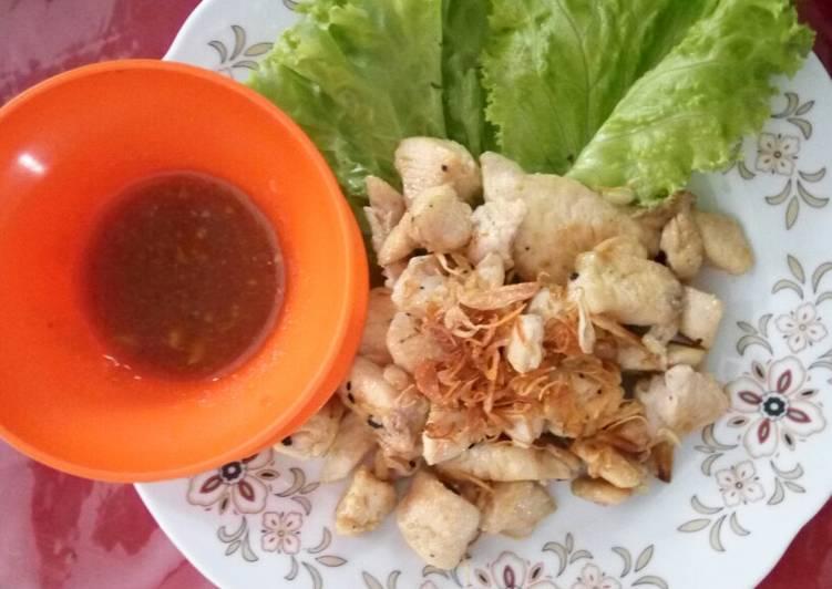 Sate ayam taichan tanpa tusuk - cookandrecipe.com