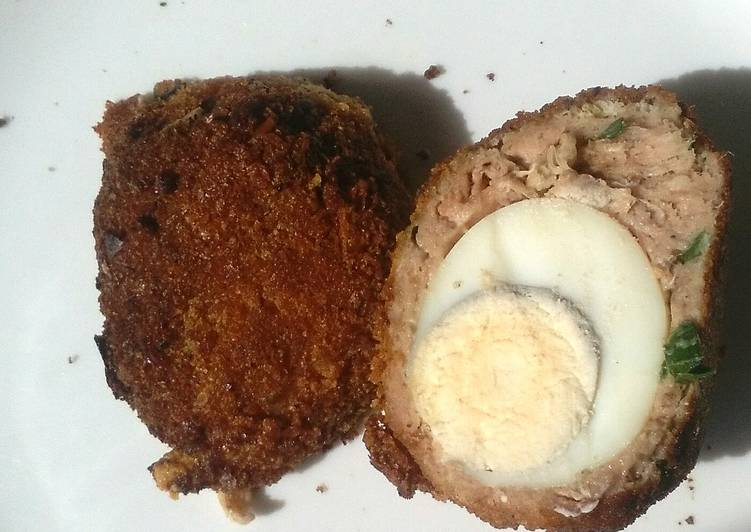 Scotch eggs #my mums recipe