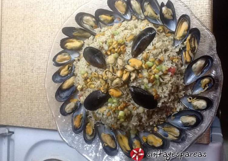 Step-by-Step Guide to Make Ultimate Perfect midopilafo (mussels with rice)
