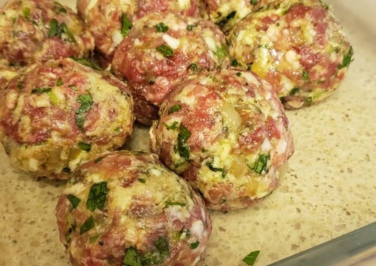 Easiest Way to Prepare Homemade Italian Meatballs