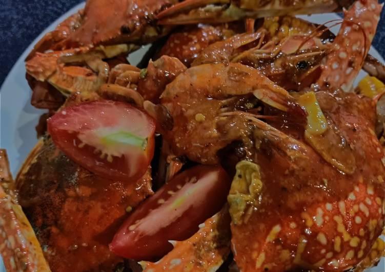 Resep Kepiting Nyablak Oleh Kiki Rizky Amelia Cookpad