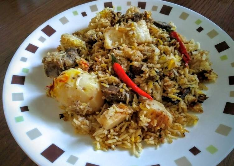 How to Prepare Quick Pressure Cooker Kachchi
