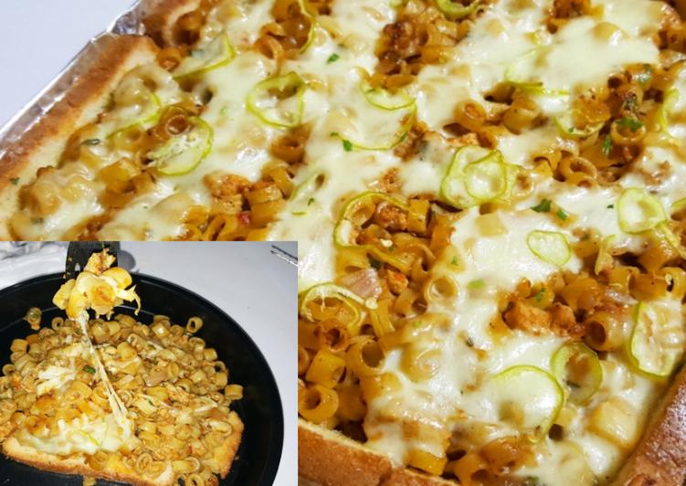 Macaroni Pie | Chicken Macaroni and Cheese Pie | Cheese Pie Recipes
