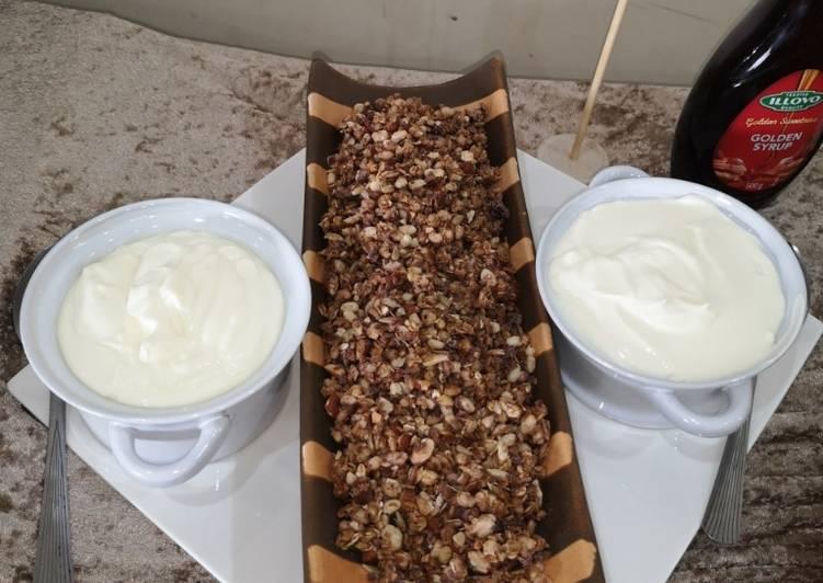 Recipe of Perfect Homemade granola