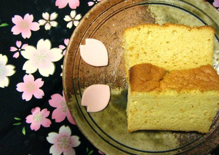 Living Greener for Good Health By Consuming Superfoods Moist Brown Sugar & Rice Flour Castella Cake