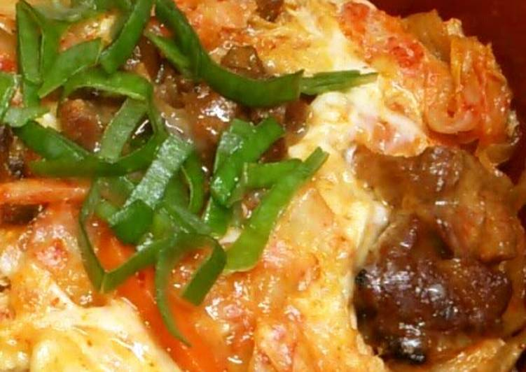 Kimchi and Egg Rice Bowl (and Oyako-don with Tinned Yakitori Chicken) – Food Network Cookbooks