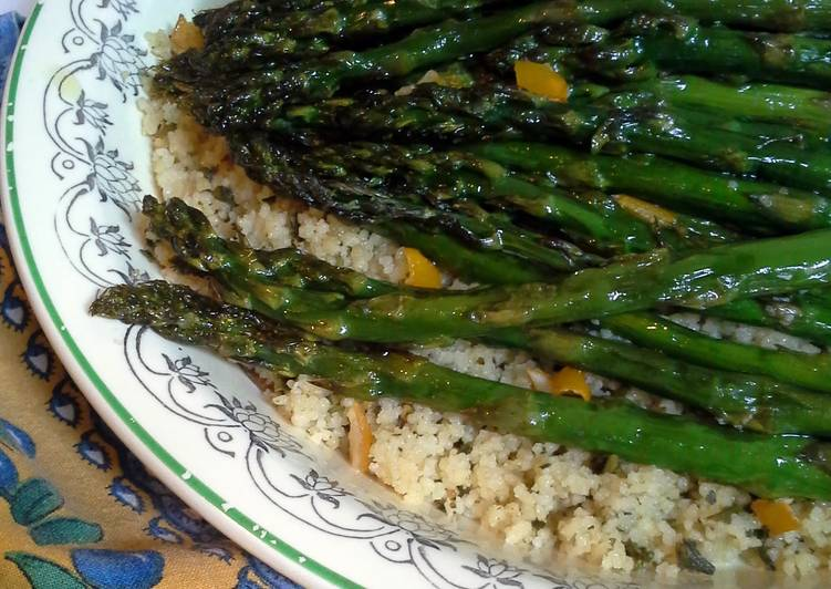 How to Make Delicious Asparagus with Preserved Lemons
