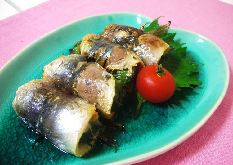 How to Make Any-night-of-the-week Grilled Sardine Rolls with Umeboshi and Shiso Leaves