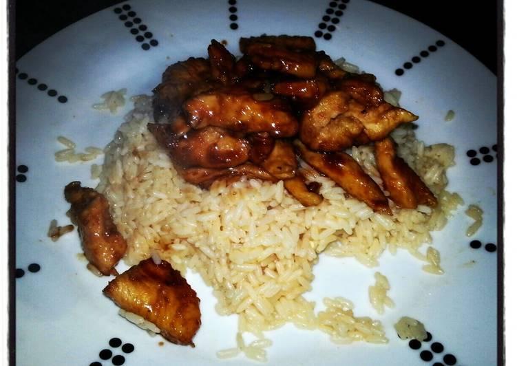 Sweet & Spicy Sticky Chicken