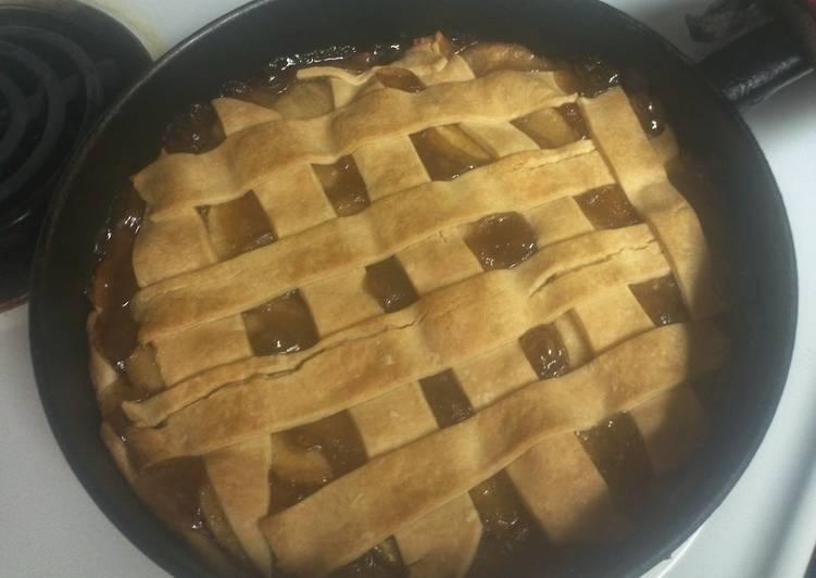 Easiest Way to Make Quick Lattice Apple Pie