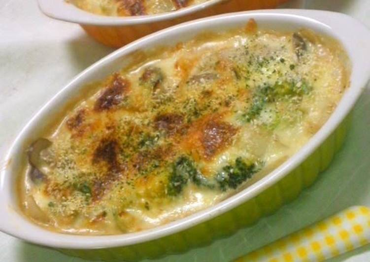 Recipe: Tasty Low-Carb Gratin with Okara