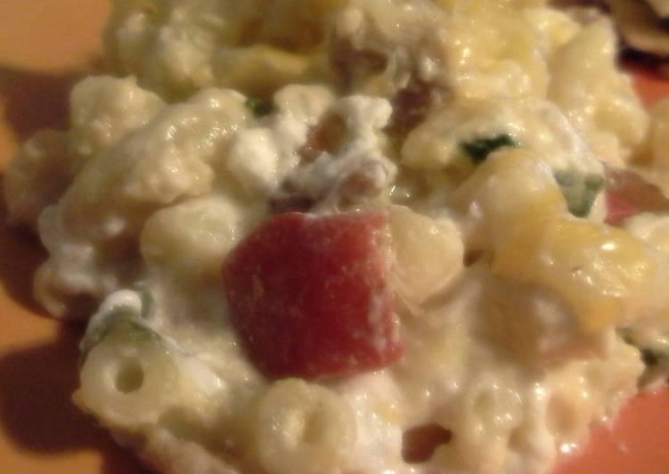 Lighter Macaroni & Cheese