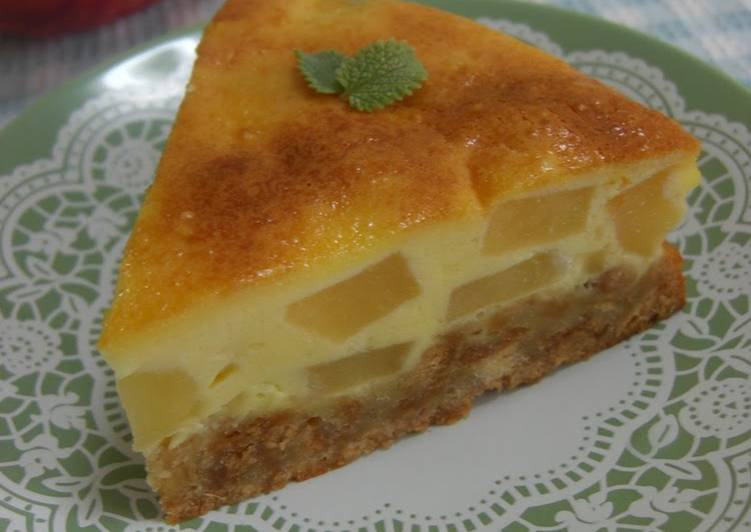 Recipe of Most Popular Cheesecake With Apples