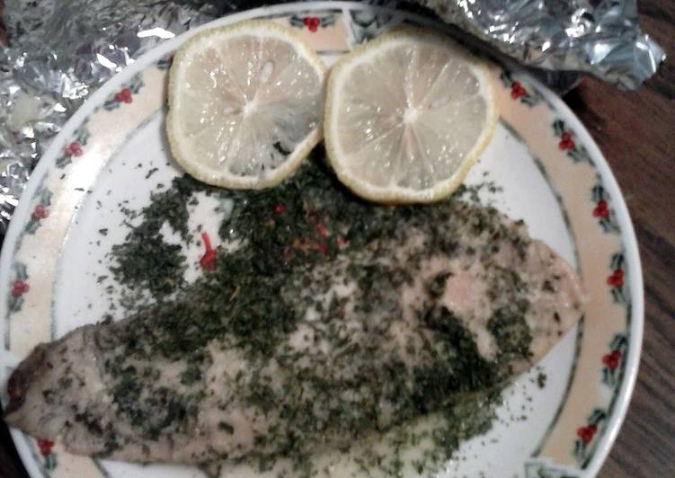 Permalink to Gluten free Foil fish Recipe