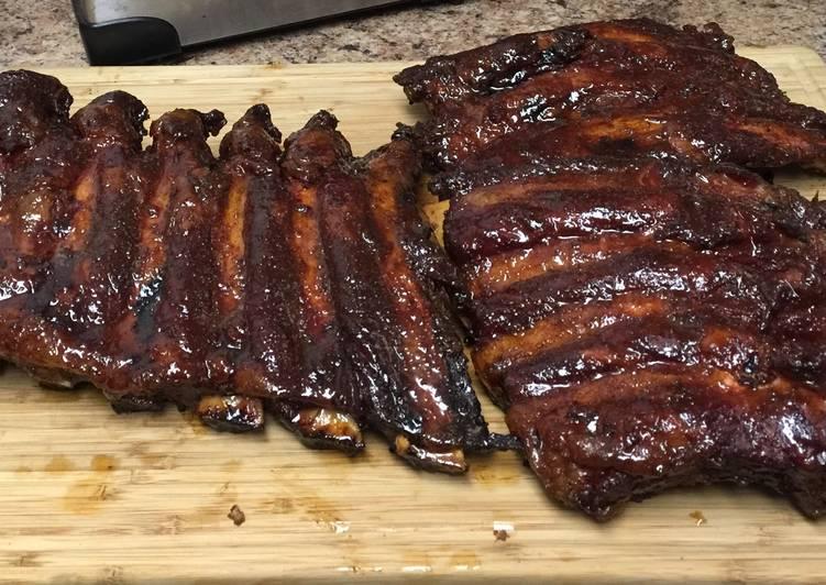 Maple Bourbon Beef Back Ribs