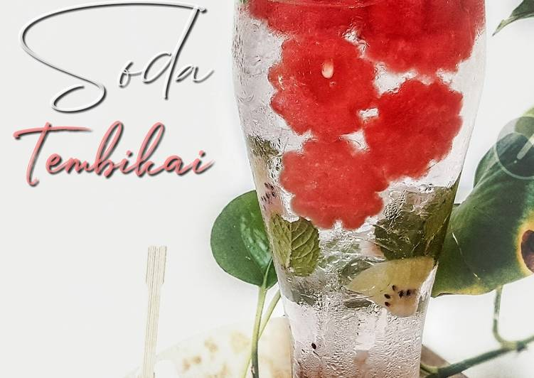 Soda tembikai# minuman # maraton raya - resepipouler.com