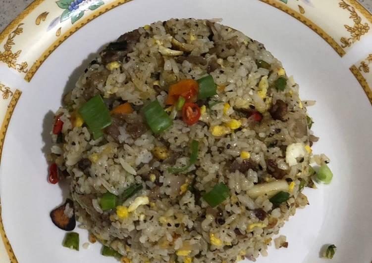 Nasi goreng tiarbah ala2 mamayaa