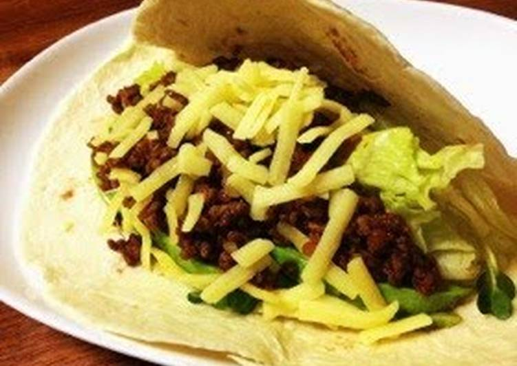 Foods That Can Make You Happy Taco Meat for Taco Rice or Tacos
