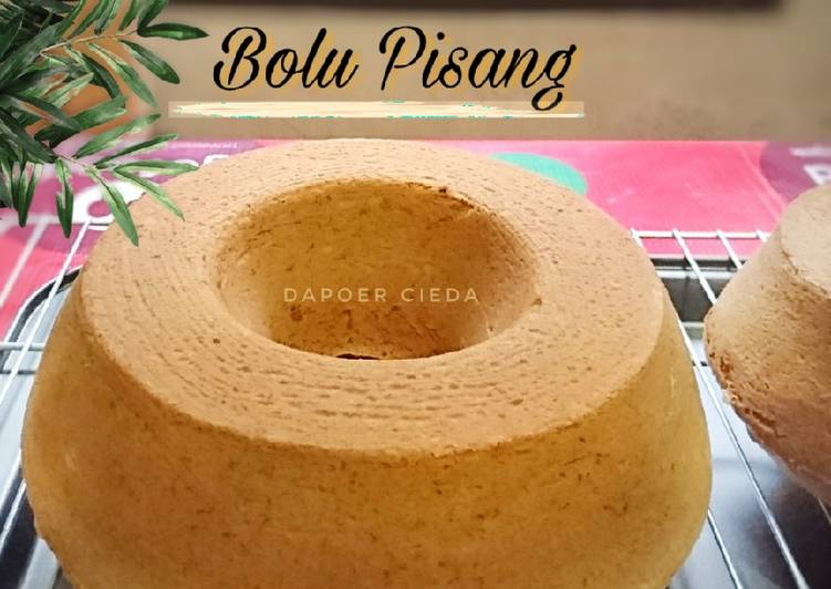 Bolu Pisang Lembut (All in One)