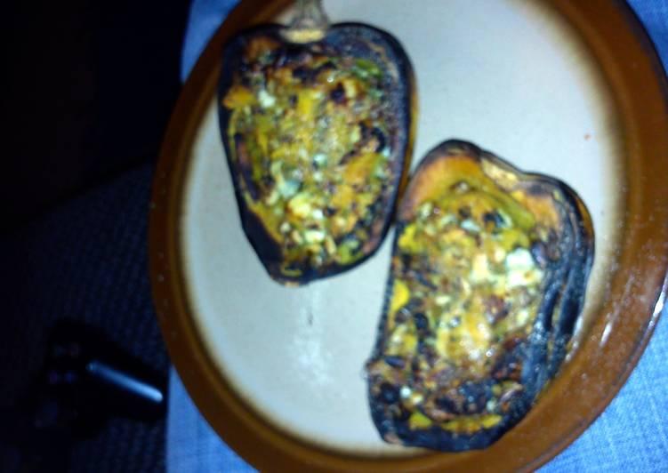Recipe: Perfect stuffed roasted squash
