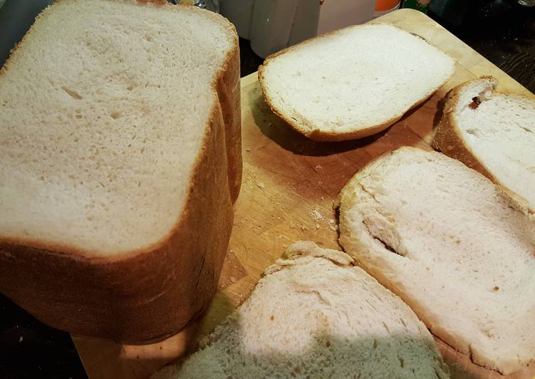 Extremely Soft White Bread Bread Machine Recipe By Ant