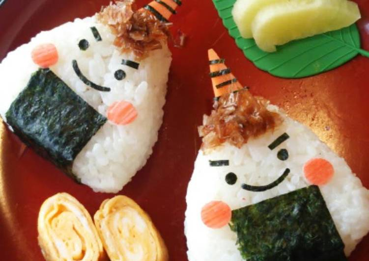 Your State Of Health Can Be Impacted By The Foods You Decide To Eat Setsubun Character Bento - Demon-Giri Rice Balls~